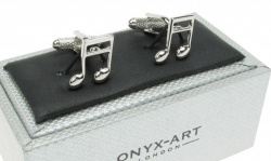 Musical Note Quaver Style Cufflinks